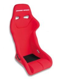 ChargeSpeed Bucket Racing Seat Genoa Type Kevlar Red