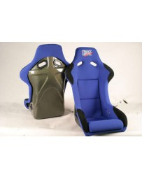 ChargeSpeed Bucket Racing Seat Sport Type Kevlar Blue