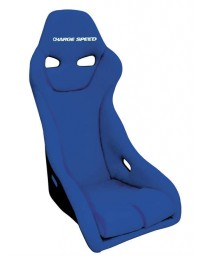 ChargeSpeed Bucket Racing Seat Genoa-S Type FRP Blue