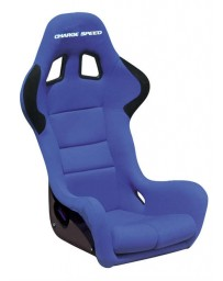ChargeSpeed Bucket Racing Seat Spiritz SS Type FRP Blue