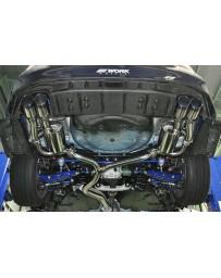 ChargeSpeed Subaru WRX STi CatBack Exhaust System