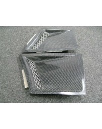 ChargeSpeed Universal Air Duct Fender Type-M Carbon