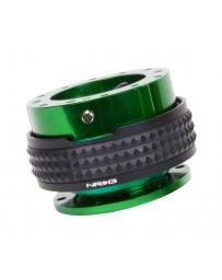 NRG Quick Release Kit - Pyramid Edition - Green Body / Black Pyramid Ring