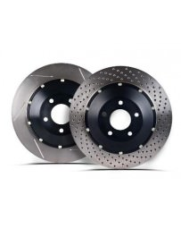 Focus ST 2013+ StopTech Slotted AeroRotor Kit Zinc Coating