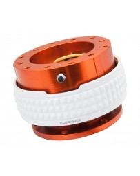 NRG Quick Release Kit - Pyramid Edition - Orange Body / Glow In The Dark Pyramid Ring