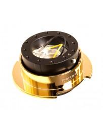 NRG Quick Release Kit Gen 2.5 - Black Body / Chrome Gold Ring