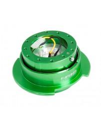 NRG Quick Release Kit Gen 2.5 - Green Body / Titanium Chrome Ring