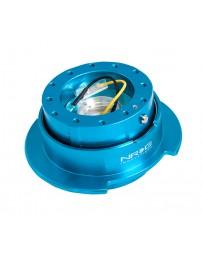 NRG Quick Release Kit Gen 2.5 - New Blue Body / Titanium Chrome Ring