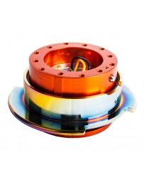 NRG Quick Release Gen 2.5 - Orange Body / Neochrome Ring