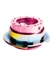 NRG Quick Release Gen 2.5 - Pink Body / Neochrome Ring