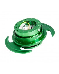NRG Quick Release Kit Gen 3.0 - Green Body / Green Ring with Handles