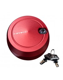 NRG Quick Lock V2 w/Free Spin - Red (Will Not Work w/Thin Version QR or Quick Tilt System)
