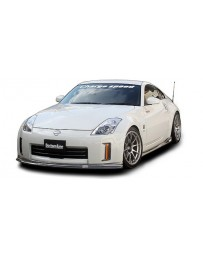 ChargeSpeed Nissan 06-08 350Z Bottom Line Lip Kit Carbon