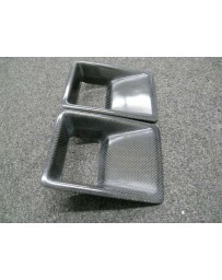 ChargeSpeed Universal Air Duct Bumper Type-B Carbon