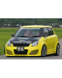 ChargeSpeed 04-09 Suzuki Swift Front Bumper