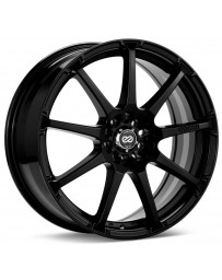 Enkei EDR9 15x6.5 5x100/114.3 38mm offset 72.6 Bore Diameter Black Wheel