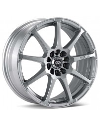 Enkei EDR9 17x8 5x105/110 38mm Offset 72.6 Bore Diameter Silver Paint Wheel