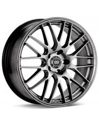 Enkei EKM3 18x8 5x112 Bolt Pattern 35mm Offset 72.6 Bore Dia Performance Hyper Silver Wheel