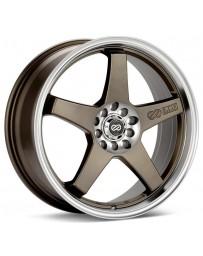 Enkei EV5 18x7.5 5x100/114.3 45mm Offset Bronze Wheel