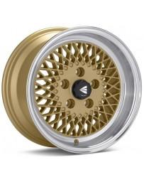Enkei92 Classic Line 15x7 38mm Offset 4x100 Bolt Pattern Gold Wheel