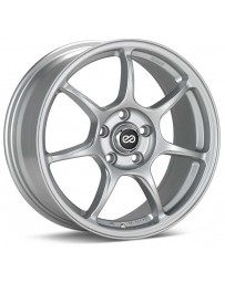 Enkei Fujin 18 x 8 40mm Offset 5x100 Bolt Pattern 72.6 Bore Silver Wheel