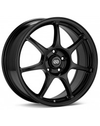 Enkei Fujin 17 x 7.5 40mm Offset 5x114.3 Bolt Pattern 72.6 Bore Black Wheel