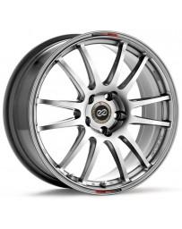 Enkei GTC01 18x9.5 5x114.3 38mm Offset 73mm Bore Hyper Black Wheel Evo 8 & 9