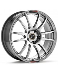 Enkei GTC01 17x9.5 5x114.3 38mm Offset 75mm Bore Hyper Black Wheel (Inc $20 SO Charge from Japan)