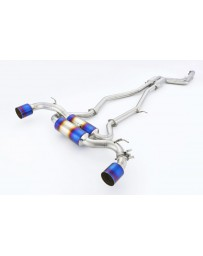 Toyota Supra GR A90 MK5 R1 TITAN EXTRA Gold Ring STTI Exhaust System