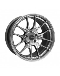 Enkei GTC02 18x10 5x112 32mm Offset 66.5mm Bore Hyper Silver Wheel