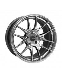 Enkei GTC02 18x10 5x112 32mm Offset 66.5mm Bore Hyper Silver Wheel