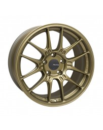 Enkei GTC02 18x9.5 5x120 45mm Offset 72.5mm Bore Titanium Gold Wheel