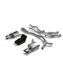 ARMYTRIX Stainless Steel Valvetronic Catback Exhaust System Dual Blue Coated Tips Audi RS5 B9 Coupe 2.9 V6 Turbo 17-20