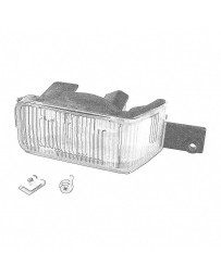 Nissan OEM Left Back Up Light Assembly Late - Nissan Skyline R34 GT-R