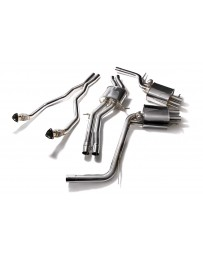 ARMYTRIX Stainless Steel Valvetronic Catback Exhaust System Audi RS5 B8 4.2L V8 FSI 2011-2016