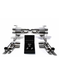 ARMYTRIX Stainless Steel Valvetronic Catback Exhaust System Audi R8 V8 MKI 2007-2012