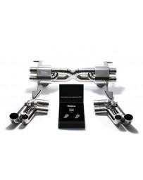 ARMYTRIX Titanium Valvetronic Exhaust System Audi R8 V10 5.2L FSI 2009-2013