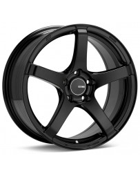Enkei Kojin 17x8 45mm Offset 5x112 Bolt Pattern 72.6mm Bore Dia Matte Black Wheel