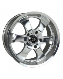 Enkei M6 Universal Truck&SUV 18x8.5 30mm Offset 6x135 Bolt Pattern 87mm Bore Mirror Finish Wheel