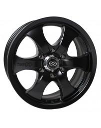 Enkei M6 Universal Truck & SUV 17x8 35mm Offset 6x139.7 Bolt Pattern 78mm Bore Black Wheel
