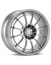 Enkei NT03+M 18x9.5 5x114.3 40mm Offset 72.6mm Bore Silver Wheel G35/350z