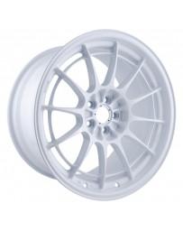 Enkei NT03+M 18x9.5 5x100 40mm Offset Vanquish White Wheel