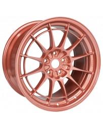 Enkei NT03+M 18x9.5 5x114.3 40mm Offset 72.6mm Bore Orange Wheel