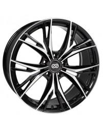 Enkei ONX 20x8.5 5x120 40mm Offset 72.6mm Bore Black Machined Wheel