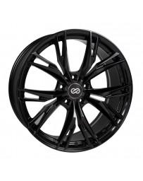 Enkei ONX 18x8 5x108 40mm Offset 72.6mm Bore Black Wheel