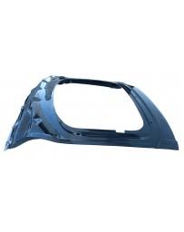 VIS Racing Carbon Fiber Trunk OEM Style for KIA Stinger 4DR 18-19