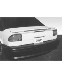 VIS Racing 1991-1995 Saturn Sl Custom Style Wing With Light