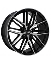 Enkei Phantom 20x8.5 5x114.3 40mm Offset Black Machined Wheel