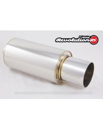 GReddy Revolution RS Universal 3inch Muffler and Tip Set