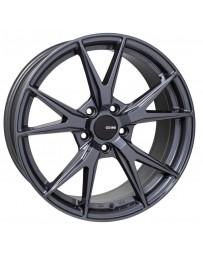 Enkei Phoenix 17x7.5 38mm Offset 5x114.3 72.6mm Bore Blue Gunmetal Wheel